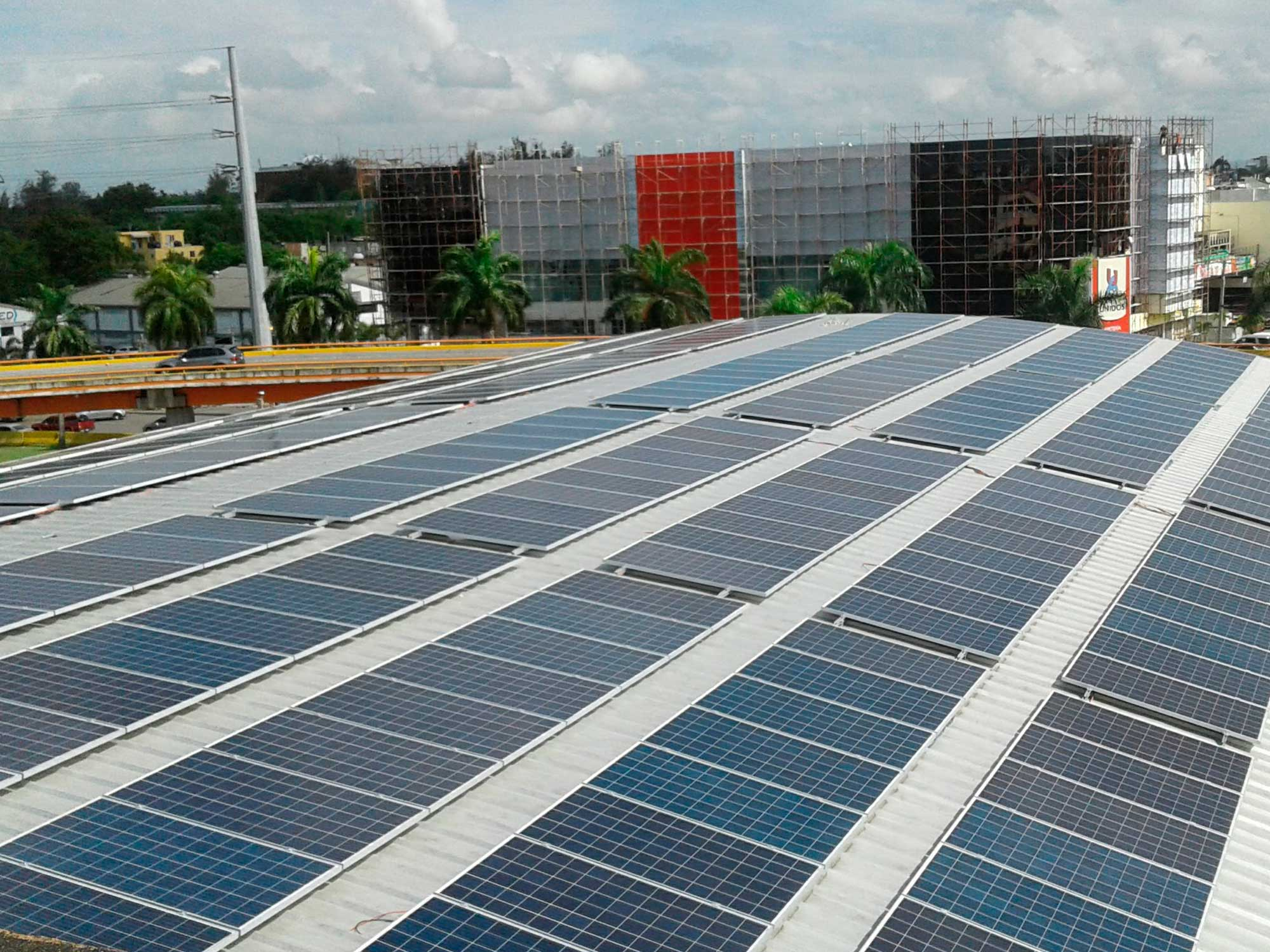 instalacion paneles solares azotea