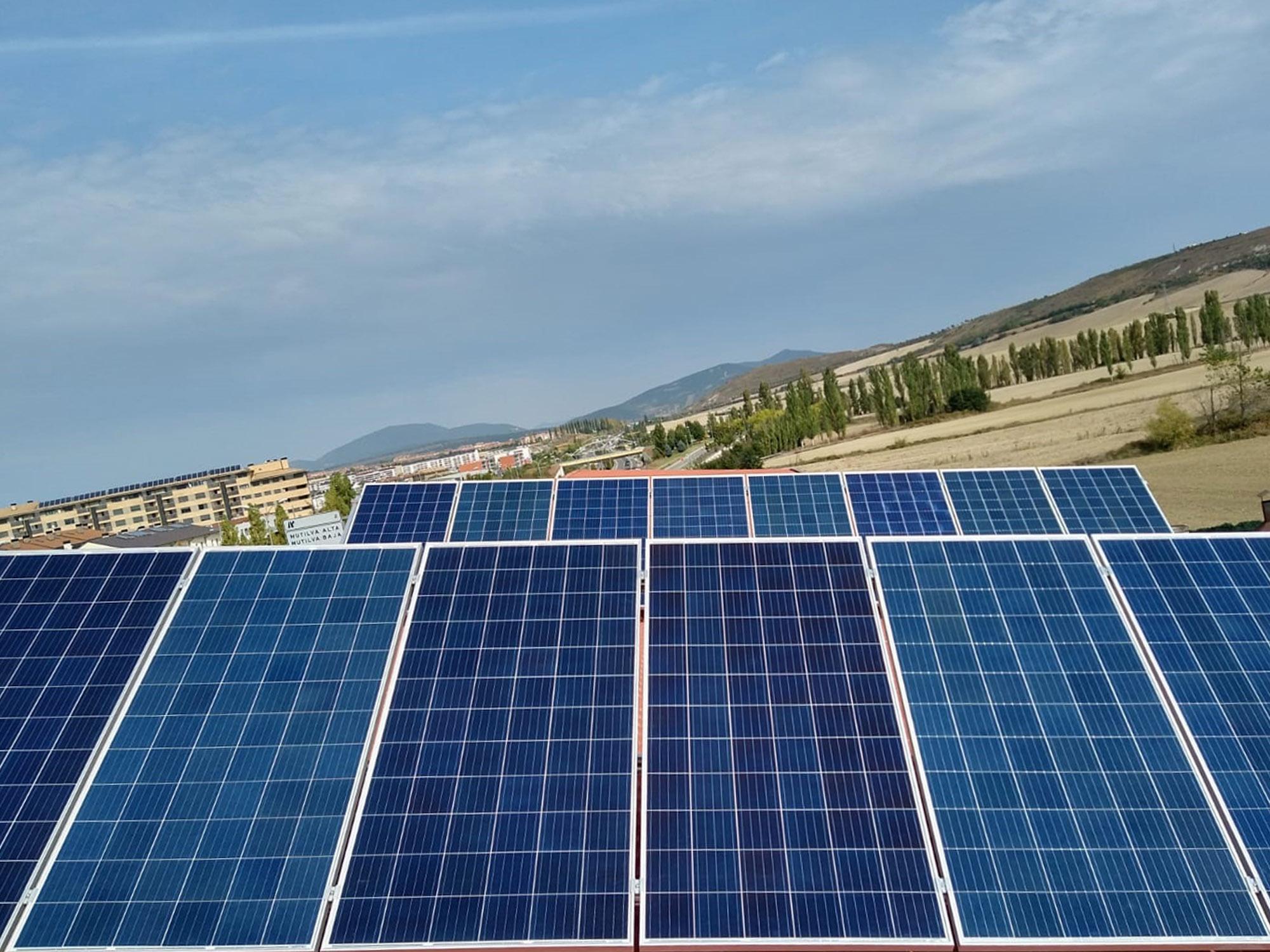 Placas Solares para generación de energía
